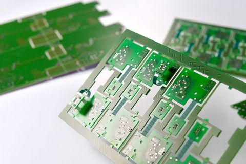 Semi-flexible circuit boards